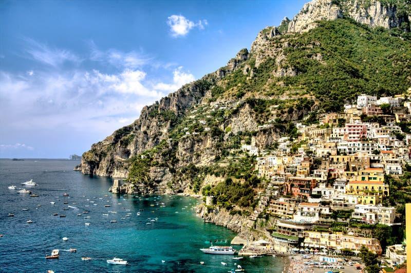 Positano, costa de Amalfi, Italia fotos de archivo libres de regalías