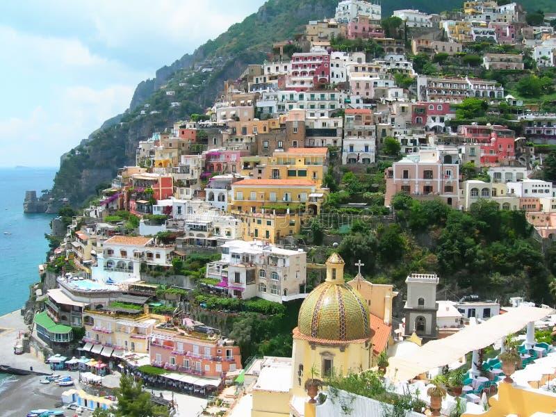 Positano Italia fotografia stock libera da diritti