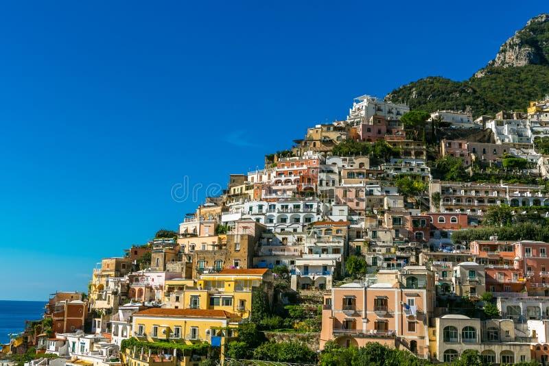 Positano, Italia imagen de archivo