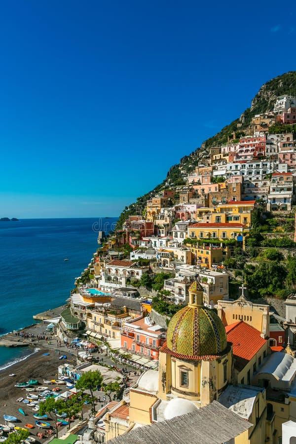Positano, Italia imagenes de archivo