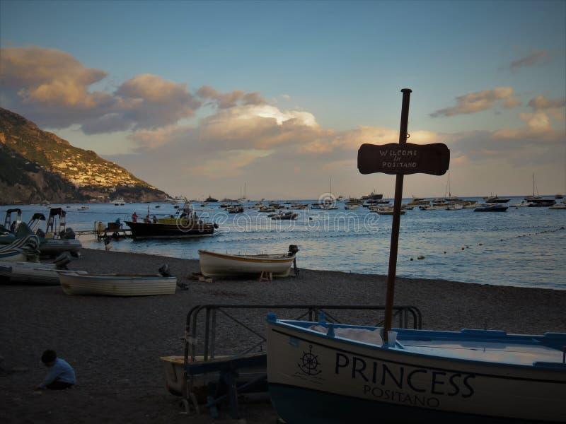 Positano, Italia imagen de archivo libre de regalías