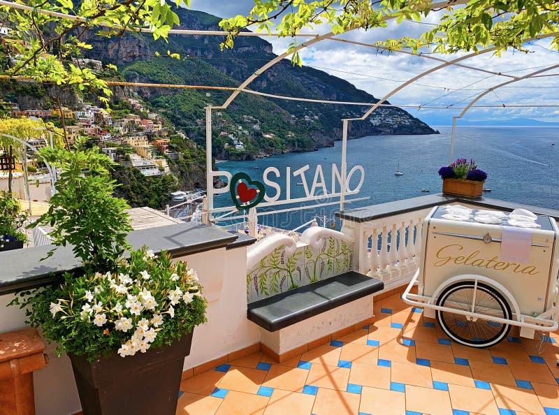 Positano, Italien royaltyfri foto