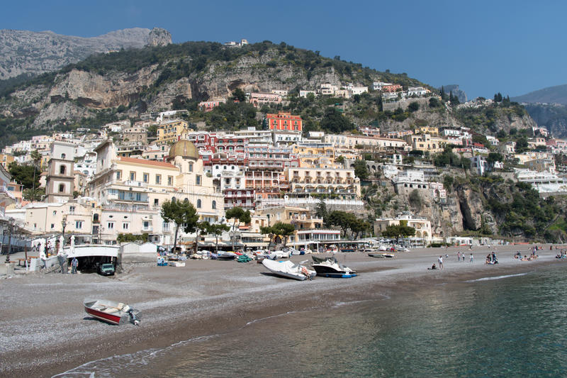 Positano, Province Salerno, Italy royalty free stock images