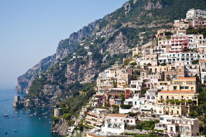 Download Positano view stock image. Image of coast, napoli, culture - 25123475