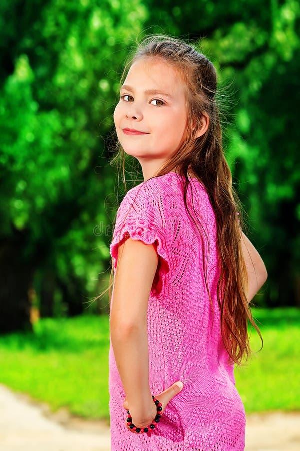 Positief meisje royalty-vrije stock afbeeldingen