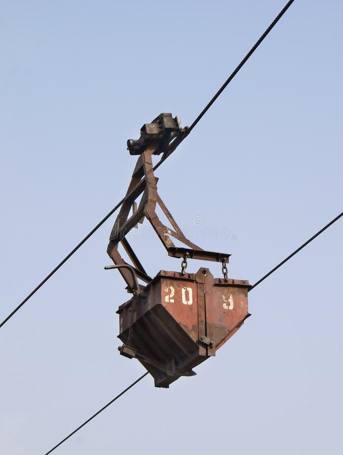 Position aérienne de ropeway photo libre de droits