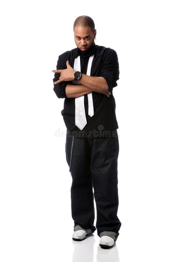 Position d'homme de Hip Hop photo libre de droits