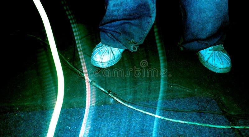 Position de gratte-cul photo libre de droits