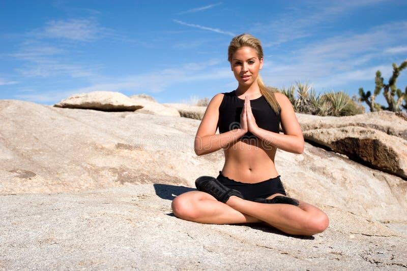 Position de yoga photos libres de droits