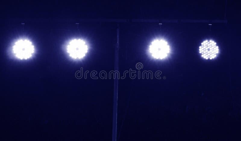 Positionieren Sie Beleuchtung lizenzfreie stockfotos