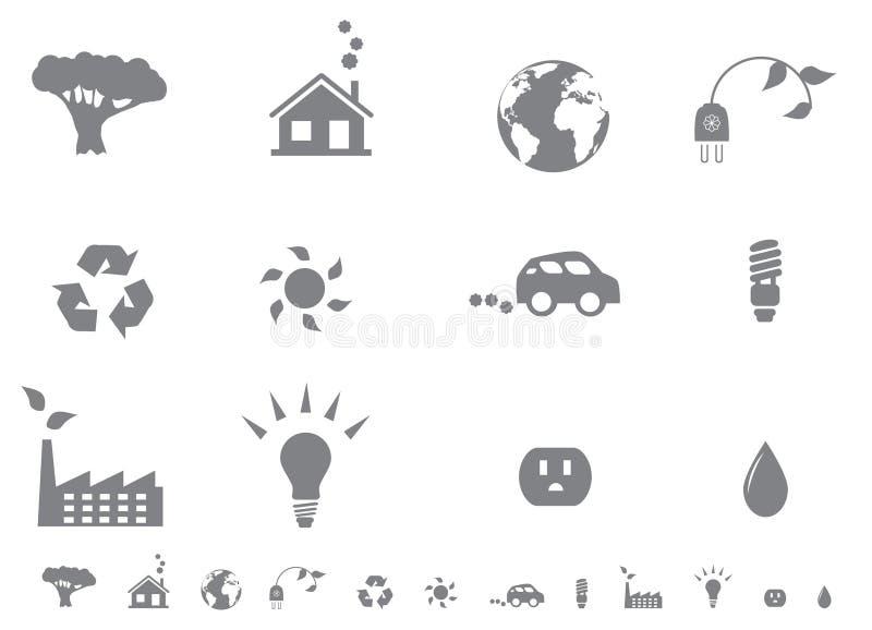 positionnement écologique de graphisme illustration libre de droits