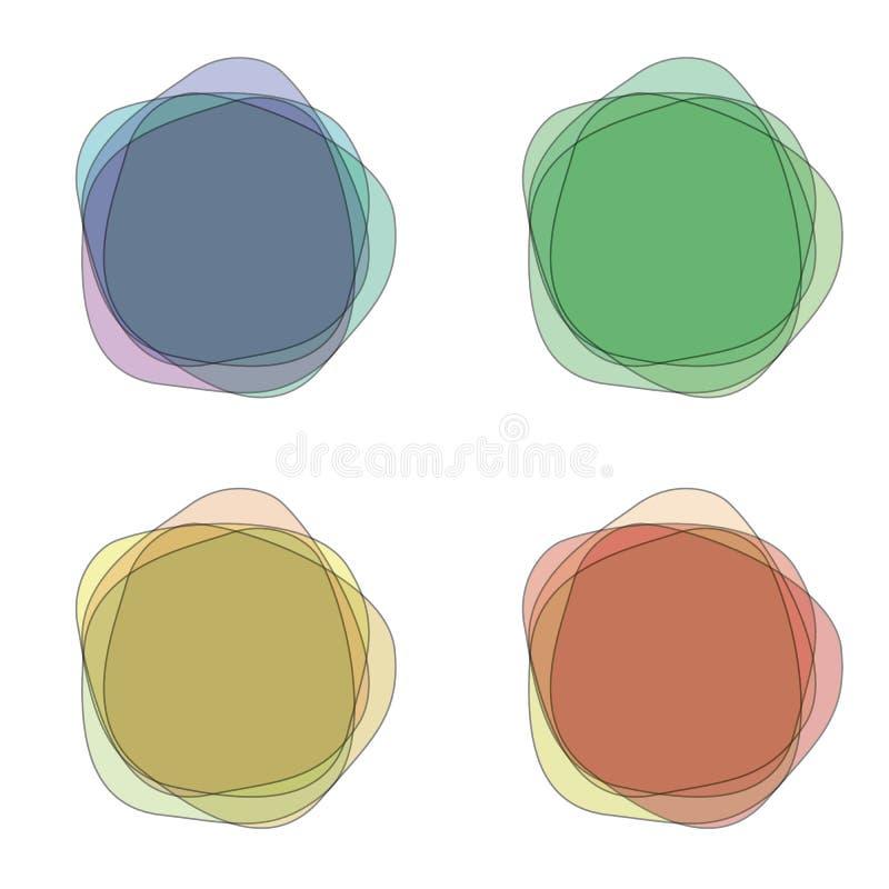 positionnement abstrait de fond image stock