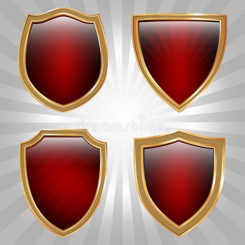 Positionnement d'écran protecteur illustration stock