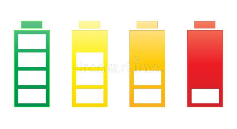 Positionnement de batterie images stock