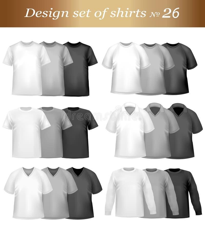 Positionnement de chemise de conception. Vecteur. illustration de vecteur