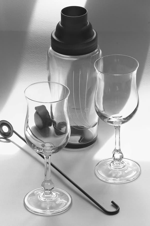 Positionnement de cocktail image stock