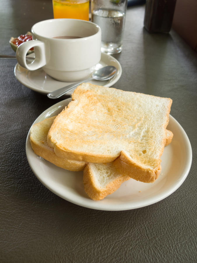 Positionnement de déjeuner photographie stock libre de droits