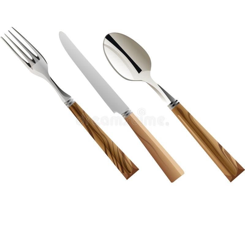 Positionnement de dîner 2 illustration libre de droits