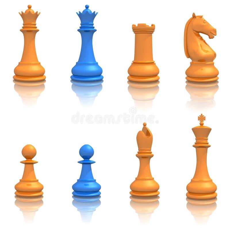 Positionnement de graphisme d'échecs photographie stock libre de droits
