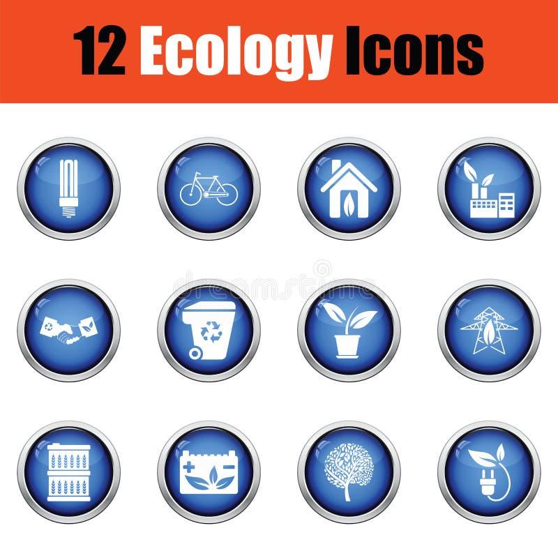 Download Positionnement De Graphisme D'écologie Illustration Stock - Illustration du moderne, vert: 77160050