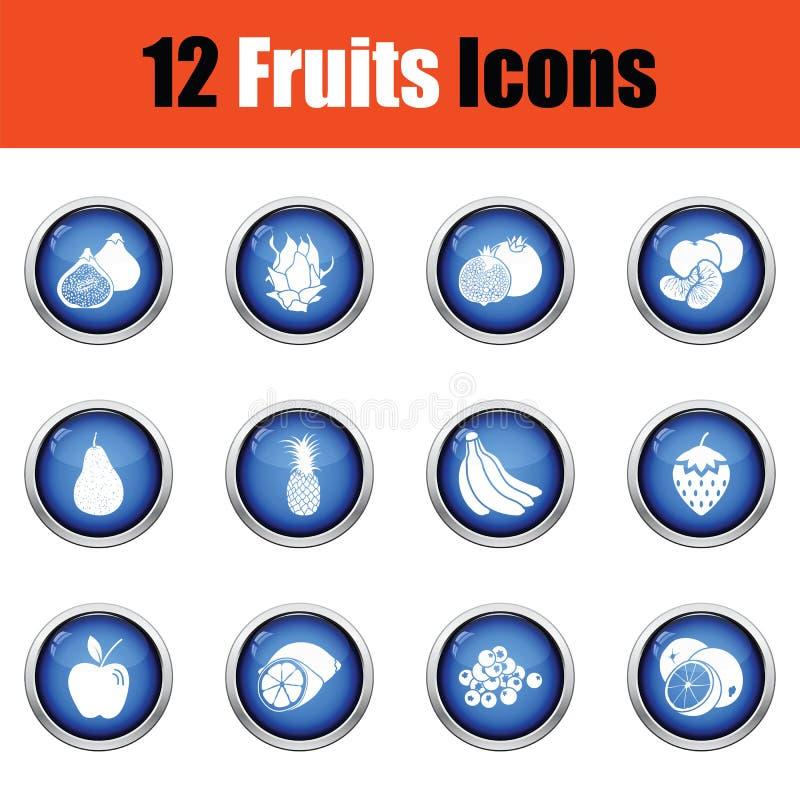 Download Positionnement De Graphisme De Fruit Illustration de Vecteur - Illustration du frais, symbole: 77160587