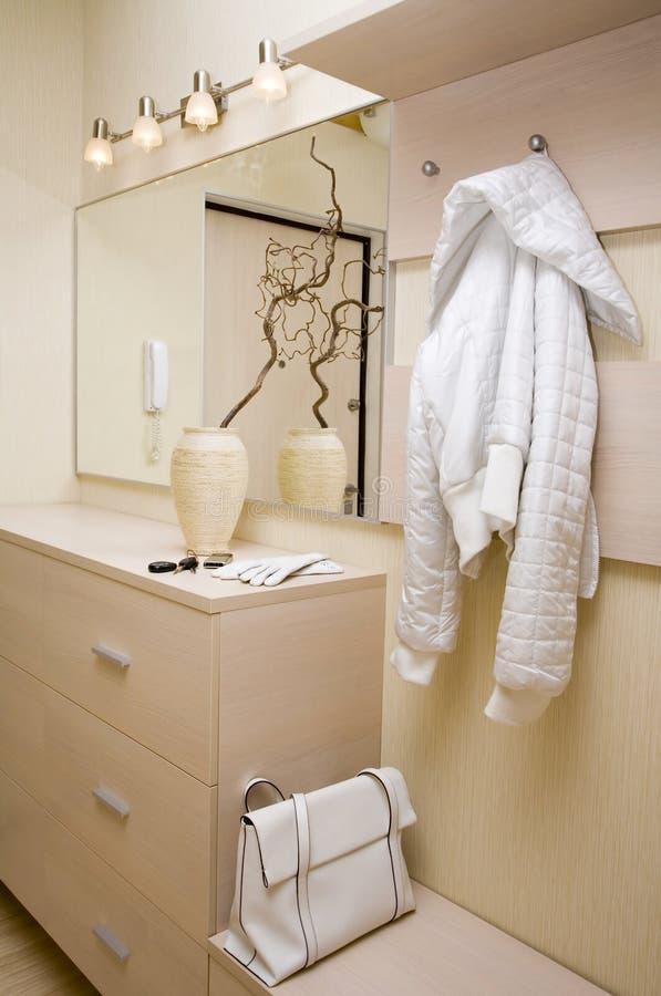 positionnement de hall de meubles images stock