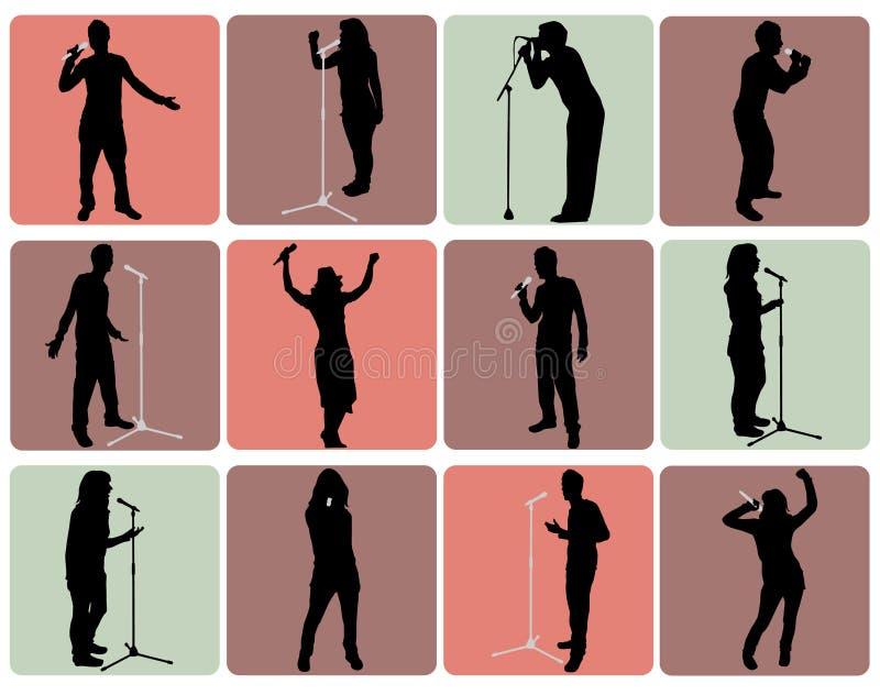 Positionnement de musique illustration de vecteur