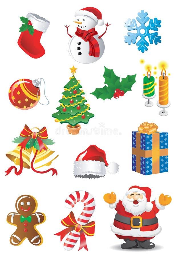 Positionnement de Noël illustration de vecteur