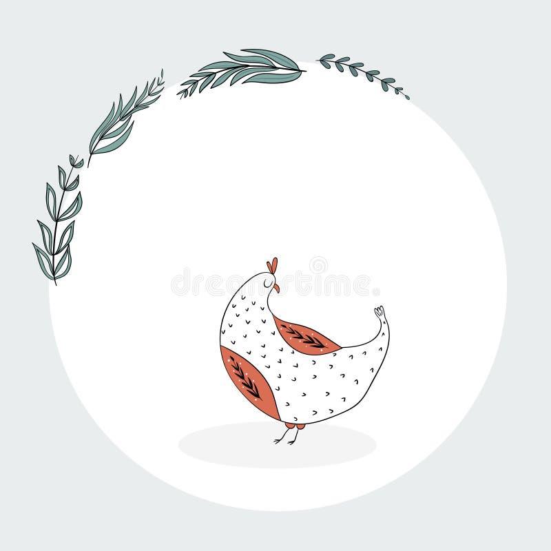 Positionnement de Pâques image libre de droits