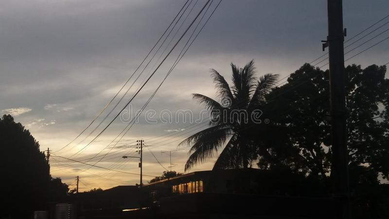 Positionnement de Sun photos libres de droits