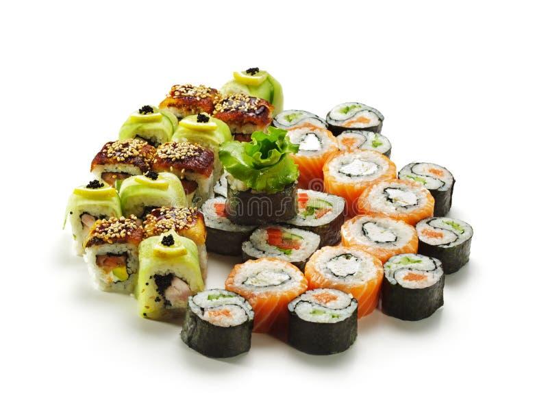 Positionnement de sushi photos libres de droits