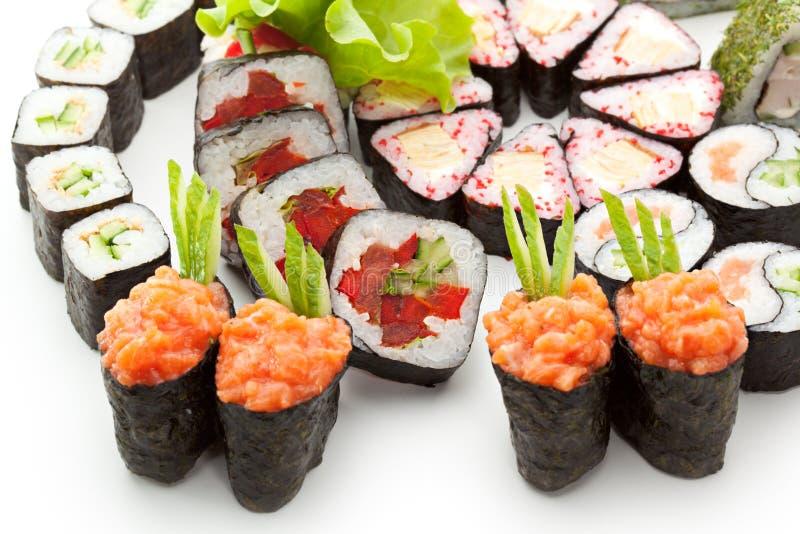 Download Positionnement de sushi image stock. Image du déjeuner - 45366773
