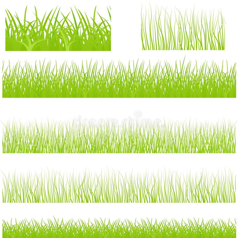 Positionnement sans frontière d'herbe de vecteur photographie stock libre de droits