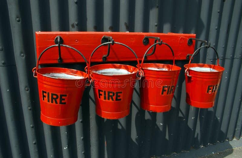 Positions d'incendie images stock