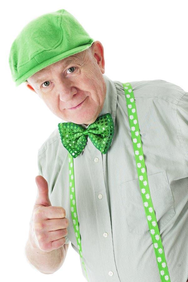 Positiv hög irländare arkivfoton