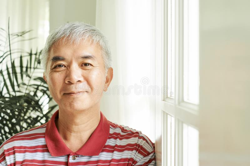 Positive Asian man royalty free stock images