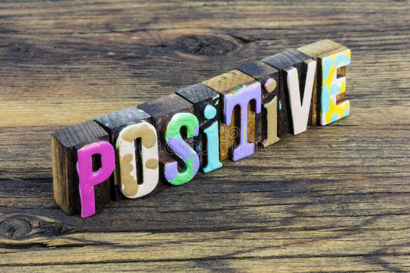 Positive attitude experience lifestyle choice happy healthy lifestyle stock photography