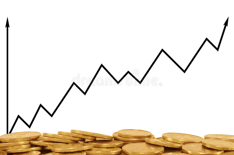 Download Positive business graph stock image. Image of firm, bank - 1677697