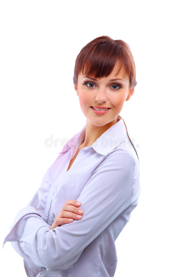 Download Positive business woman stock image. Image of executive - 11317039