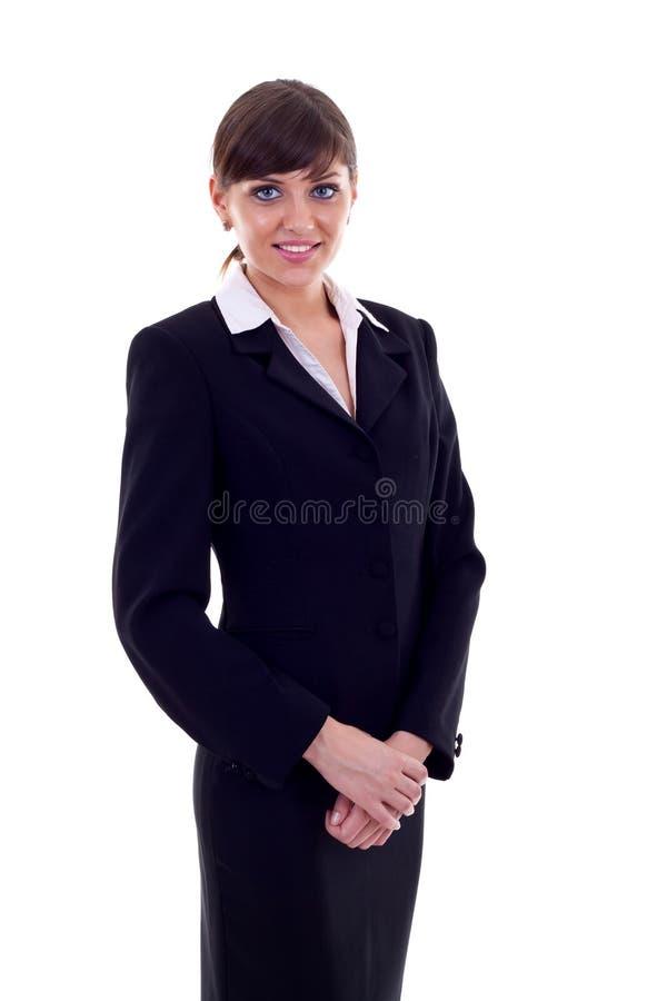 Download Positive business woman stock photo. Image of portrait - 15590188