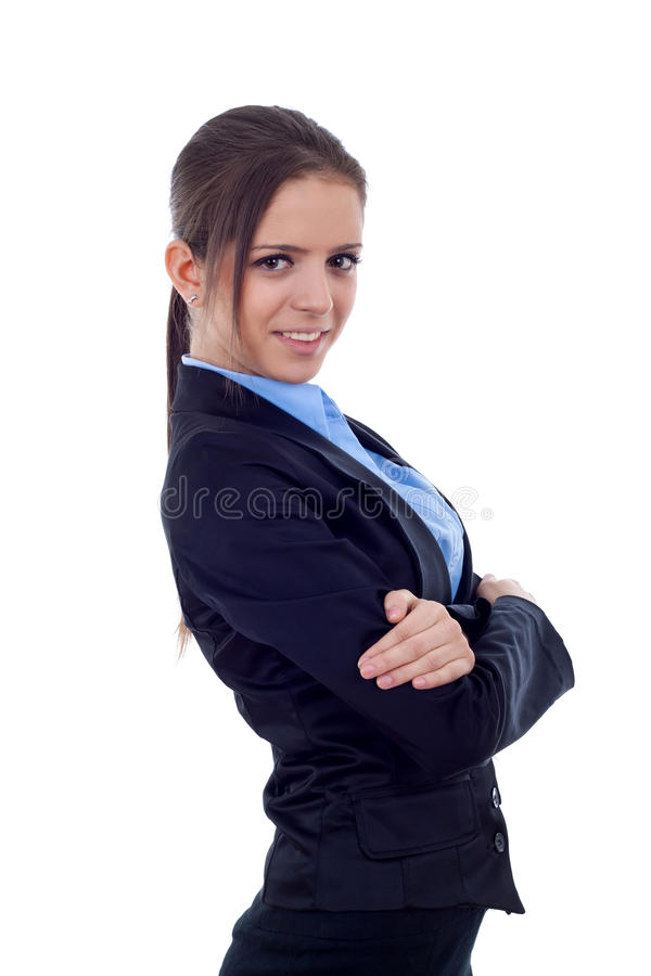 Download Positive business woman stock photo. Image of lady, beauty - 17967156