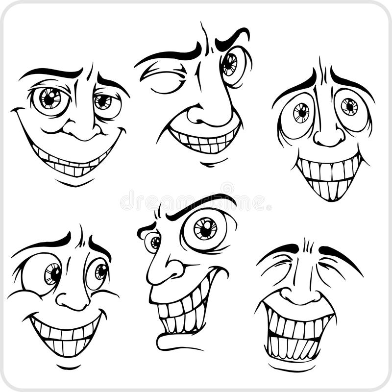 Download Positive Emotions - Vector Set. Stock Vector - Image: 32761097