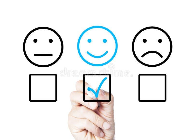 Positive feedback royalty free stock photography
