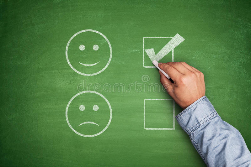 Positive Feedback stock images
