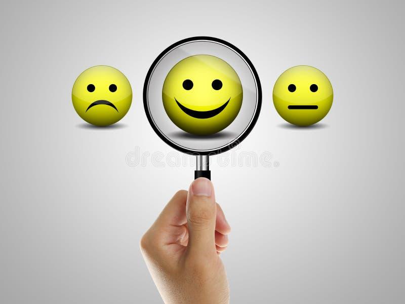 Positive feedback royalty free stock image