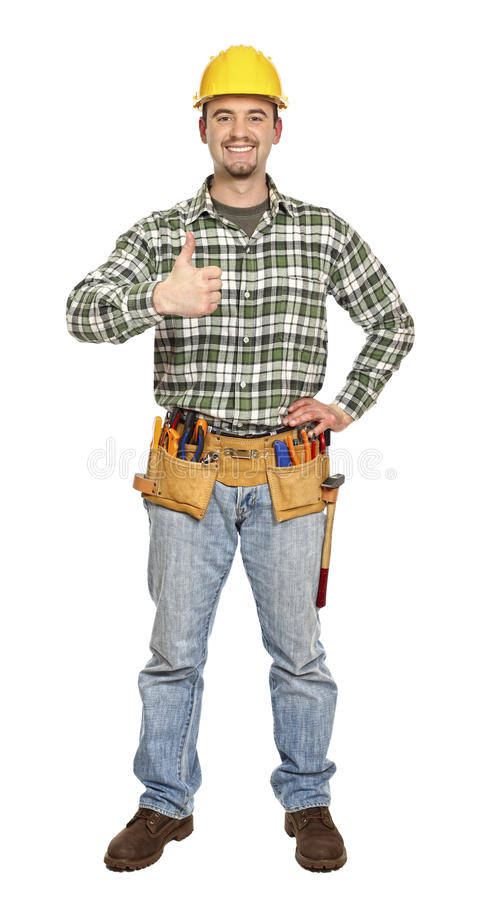Download Positive manual worker stock photo. Image of industry - 13281054