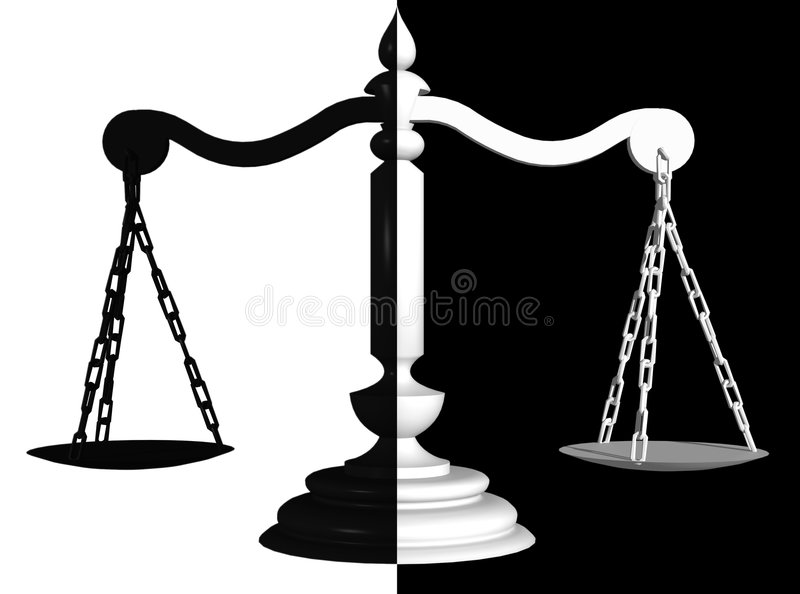 Download Positive And Negative Scales Royalty Free Stock Photography - Image: 2130437