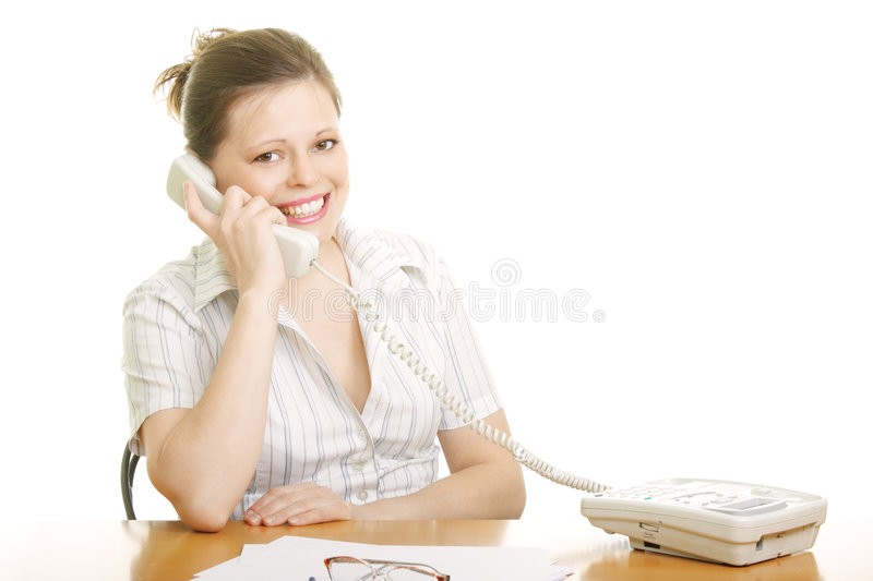 Download Positive phone talk stock photo. Image of shirt, person - 9102494