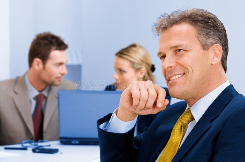 Download Positive Senior Businessman Stock Image - Image: 13340669