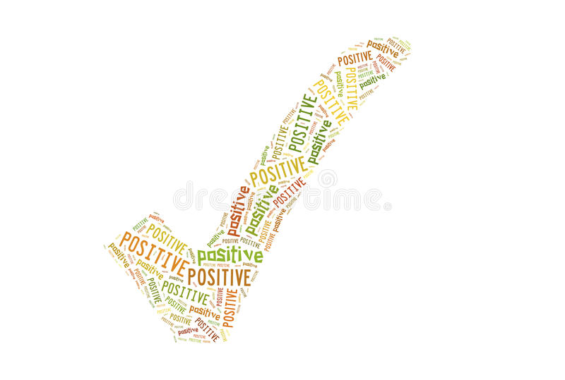 Positive Sign Stock Image